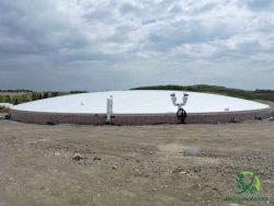 12 000m3 - Lagoon - Biogas Digester in New Brunswick