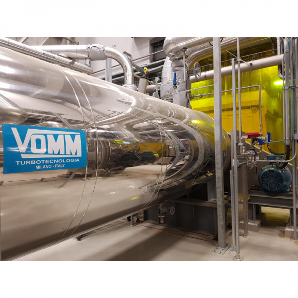 VOMM Sludge Dryer at RAEBL plant, La Prairie, Quebec, Canada