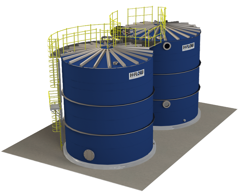 Glass-Fused-to-Steel tanks by H2Flow - picture