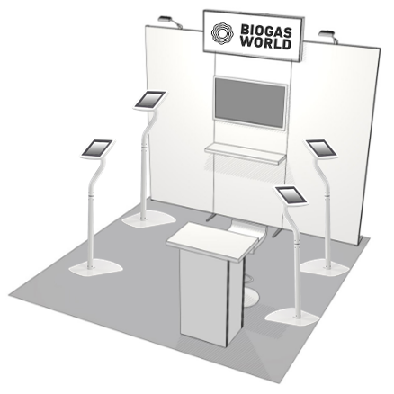 BiogasWorld Conference Booth