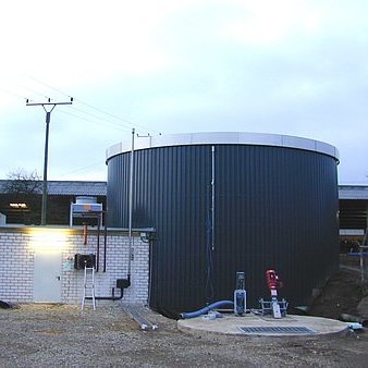 AAT compact biogas plant