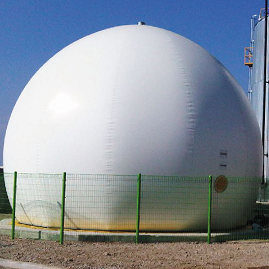 BIODOME® Double membrane gas holder