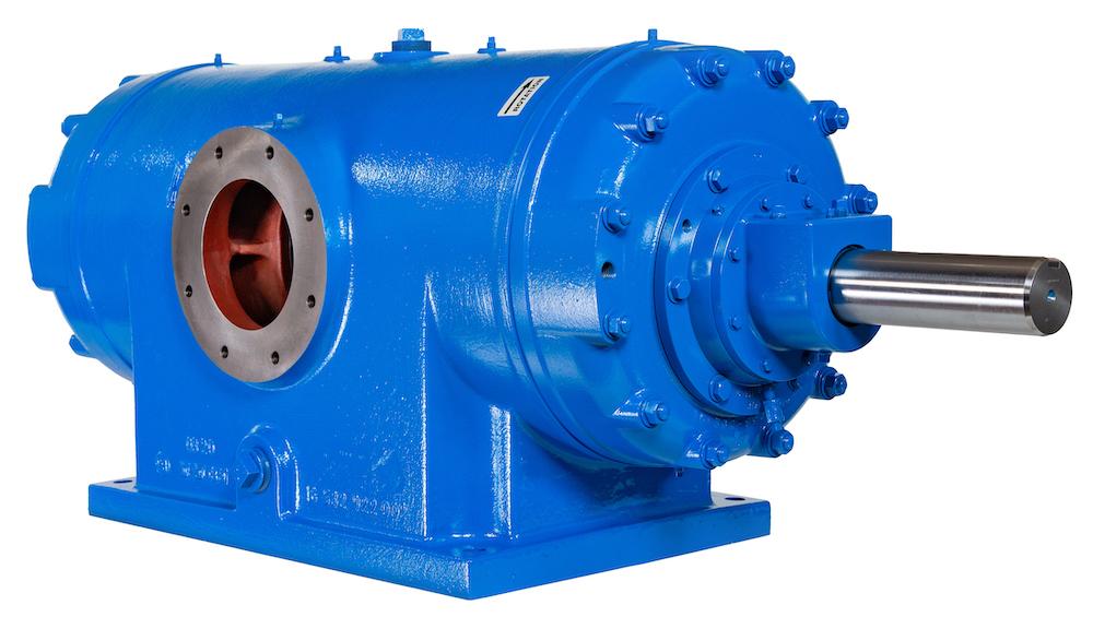 Ro-Flo Compressors: Ro-Flo Rotary Sliding Vane Compressors - Low Pressure Models