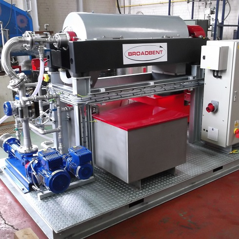 Broadbent TB325 High Speed Decanter Centrifuge
