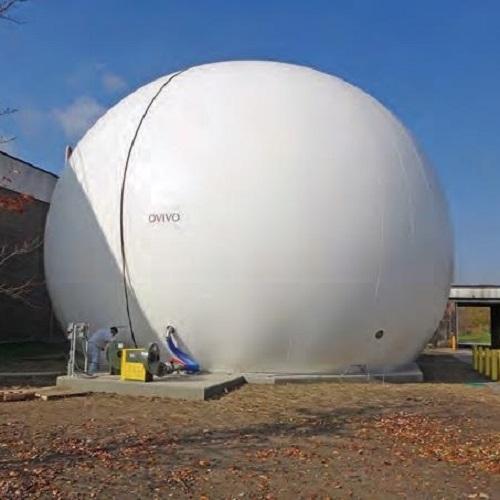 OVIVO ULTRASTORE Membrane Gasholder Main