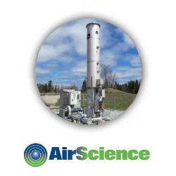 AirScience Enclosed Gas Flare Main
