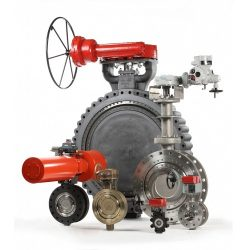 Bray Controls Triple Offset Butterfly Valve Main
