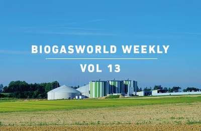 BiogasWorld Weekly Vol 13