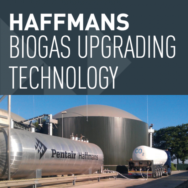 Pentair - Technologie de raffinage du biogaz Haffmans