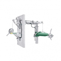 SUMA Agitateurs de biogaz Agitateurs de biogaz MGD - Mât étanche au gaz - Mât étanche au gaz (MGD)