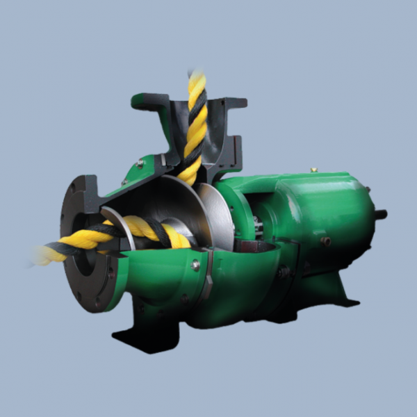 Vaughan Chopper Pumps - Triton Screw Centrifugal Pump