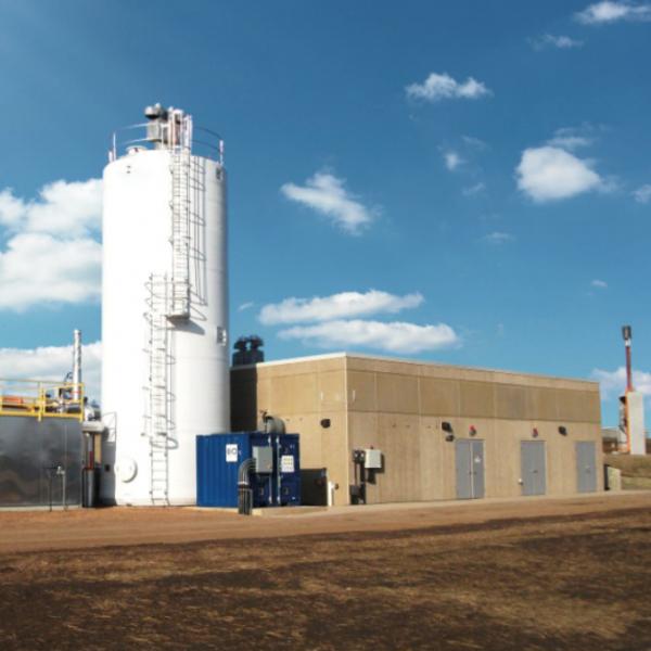 VAREC - BiogasCleaner Système d'élimination du soufre de l'hydrogène