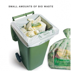 HYBAG - System Casa: Processing of small amounts in compostable bio waste bags