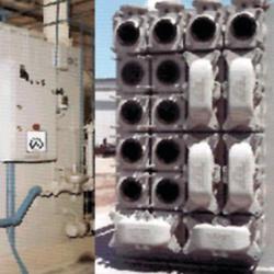 WALKER PROCESS - HeatX external heat exchangers
