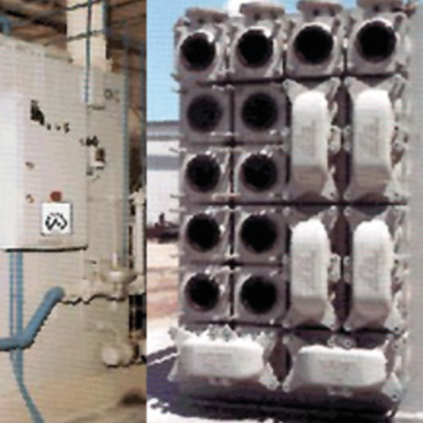 WALKER PROCESS - HeatX external heat exchangers