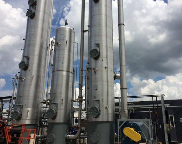 Babcock & Wilcox MEGTEC - Systèmes de purification du biogaz