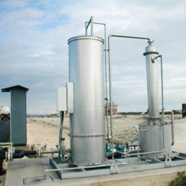 PROGECO - Unité d'élimination du H2S-épurateurs humides