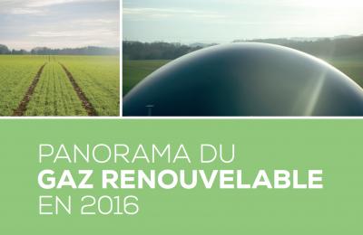 Panorama du gaz renouvelable en 2016 – État des lieux de l'injection de biométhane en France et en Europe