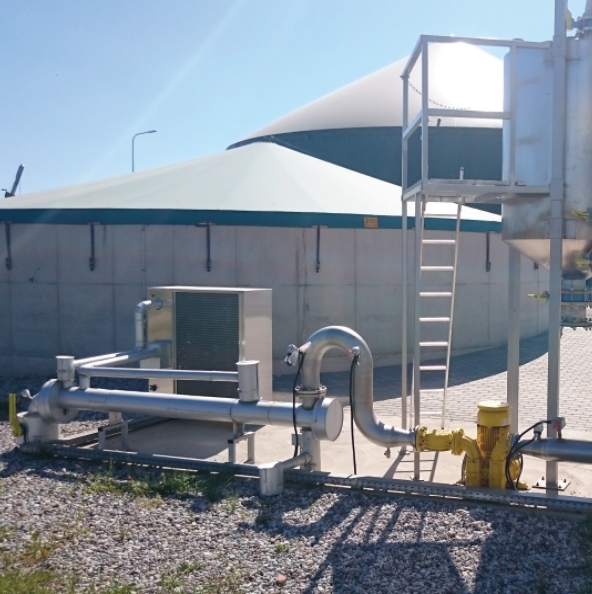 BIOKONA - Biogas drying and desulfurisation