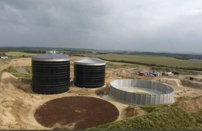 building stages of a digester