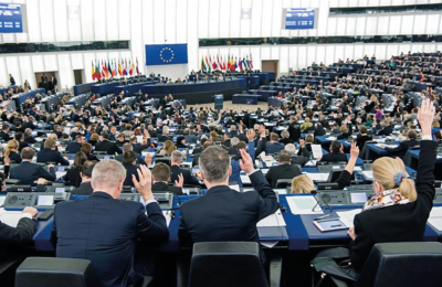 The European Parliament's Committee on Industry, Research, and Energy (ITRE) set a target of 35% renewable energy by 203