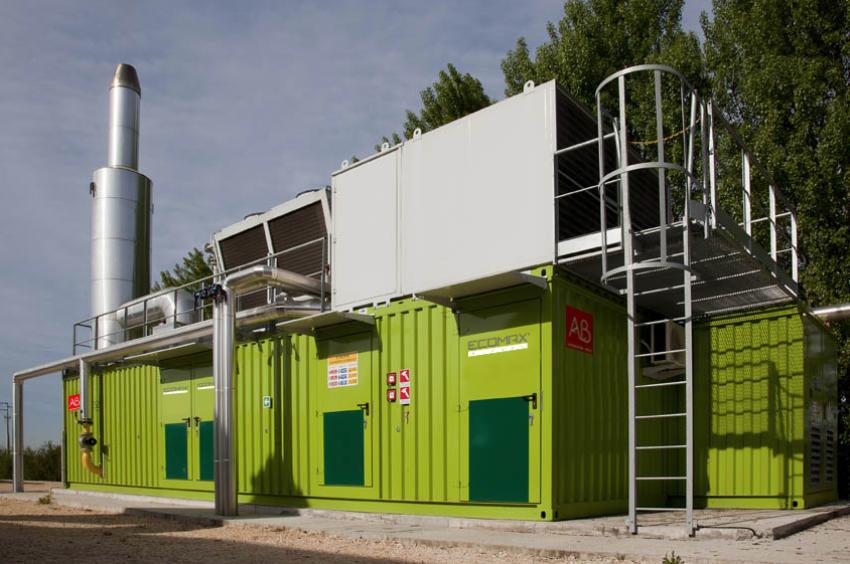 Ecomax - biogas CHP