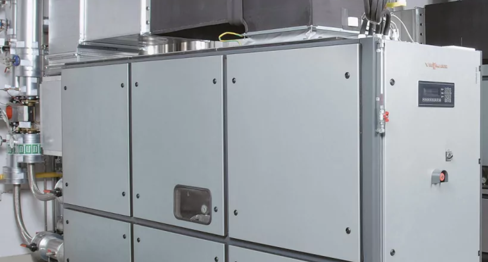 Viessmann - Viessmann - Combined heat and power boiler units up to 530 kWel and 660 kWth - Biogas CHP plant