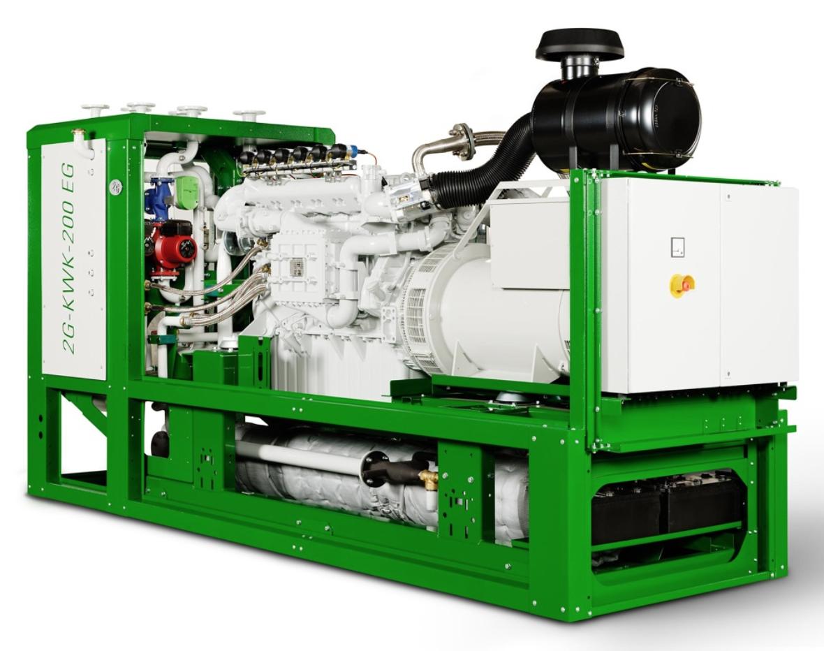 EVO Les systèmes de cogénération biogaz 2G