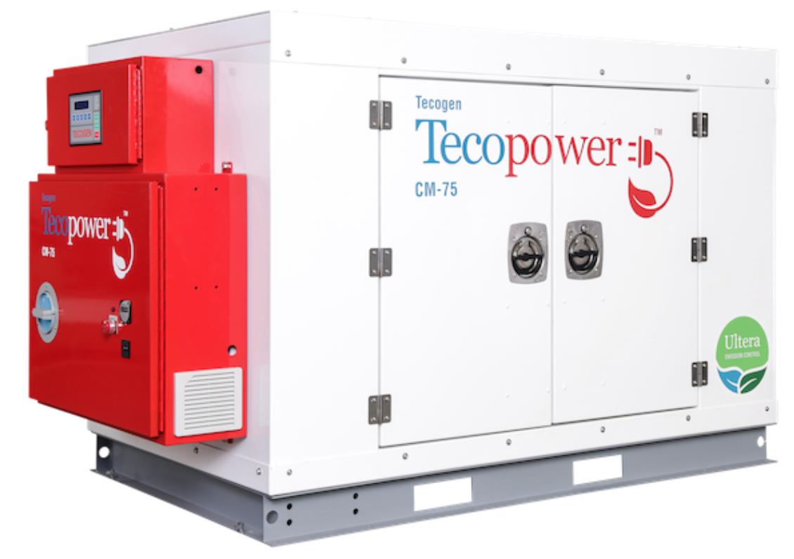 Tecogen - TecoPower - Biogas CHP plant