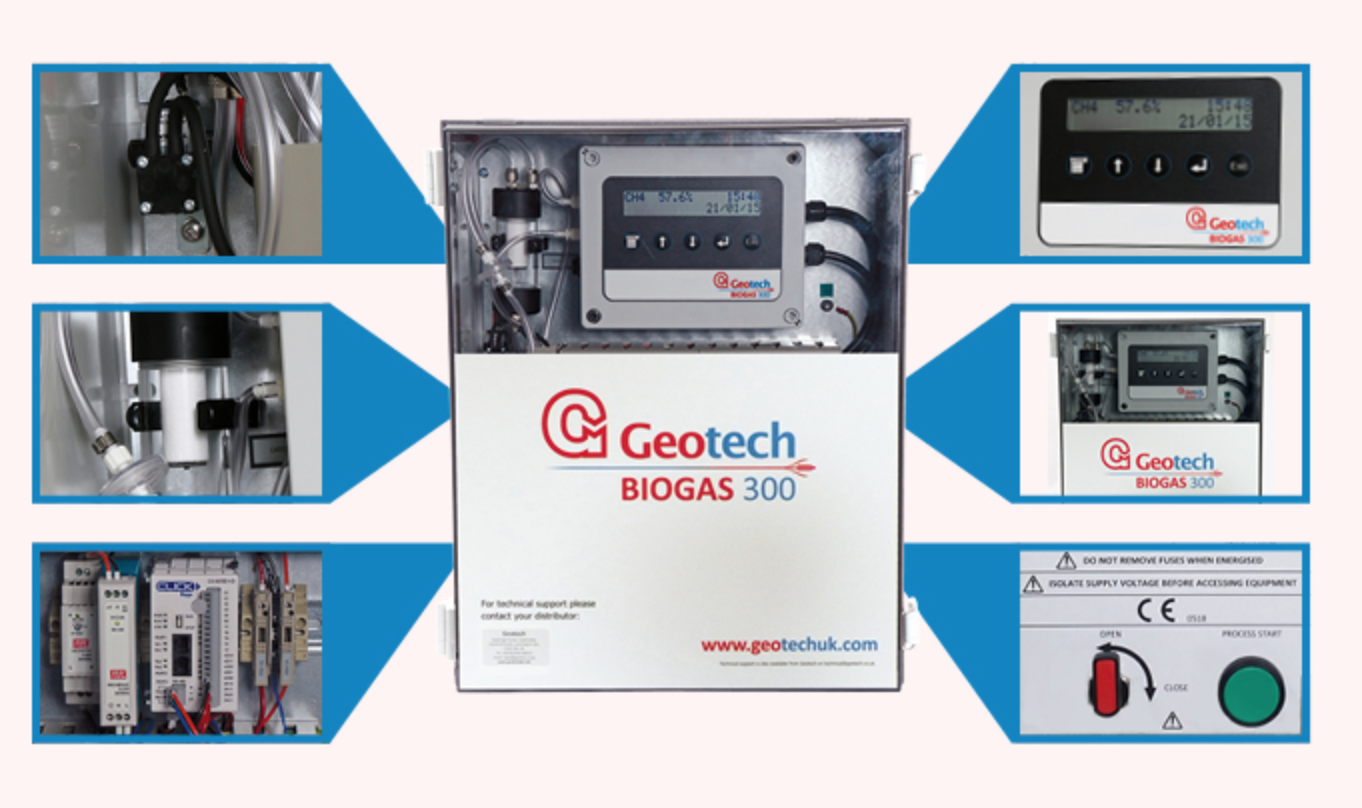 GEOTECH - Biogas 300 fixed biogas analyser