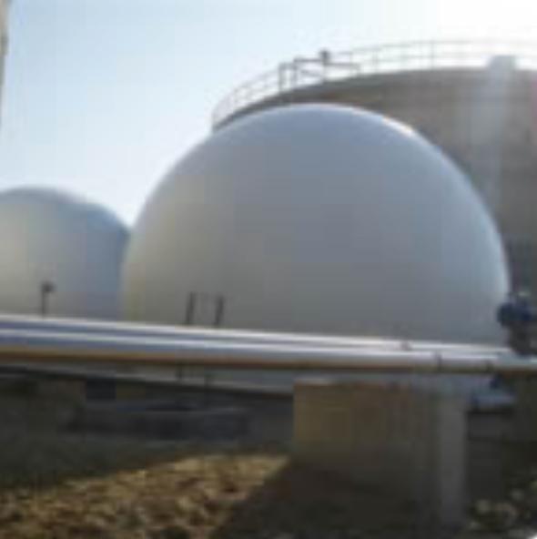 VERGAS - Gazomètres pour le stockage et la régulation du biogaz