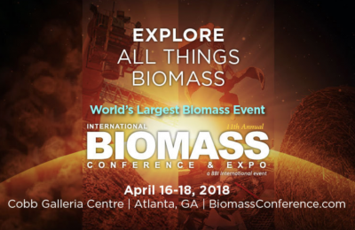 2018 International Biomass Conference & Expo - Agenda for technical sessions released