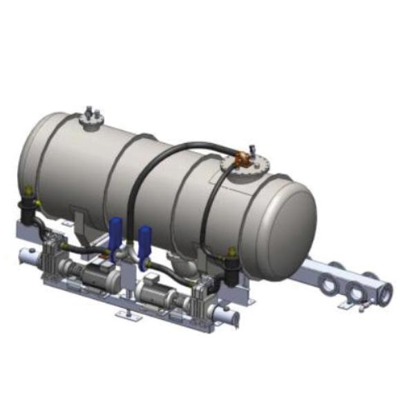 BIOGAS PLUS - Vacuum Pressure Tank: pump system