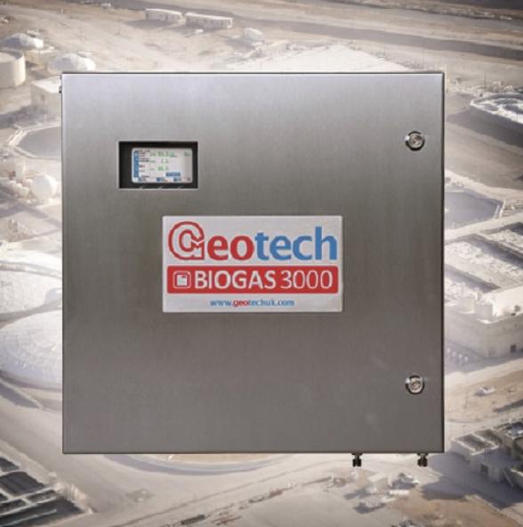 Geotech biogas analysis