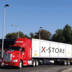 HEXAGON XPERION - X-STORE type 4 composite transport system for transporting natural gas (CNG)