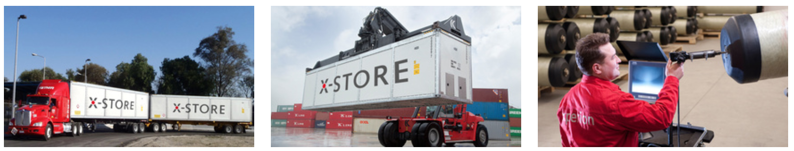 The X-STORE type 4 composite transport system for transporting natural gas (CNG)
