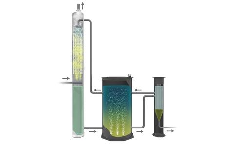 THIOPAQ® scrubber for desulfurization