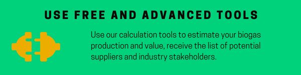 Biogas tools and biogas calculator
