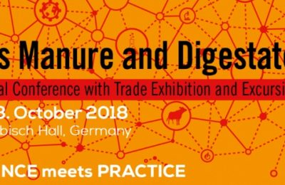 International Conference, Trade Exhibition and Excursion: Progress manure & Digestate 2018 (IBBK Biogas Conference) releases new event program