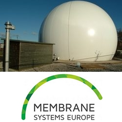 Membrane System: biogas domes