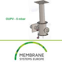 Over/Under Pressure Valve (OUPV) 5 / 10 mbar by membrane systems europe