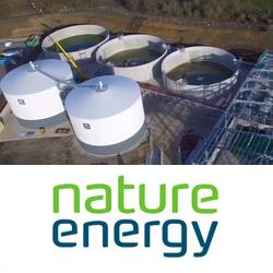 Nature Energy: Usine de biogaz