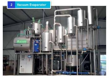 Dorset - Full-nutrient recovery system - Vacuum evaporator
