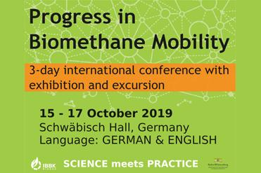 Progress in biomethane mobility 2018: Call for paper extended until April 30th!