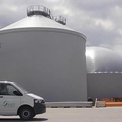 AAT Biogas - hydraulic mixed Digesters