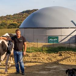 PlanET Biogas: Small scale system Valentin