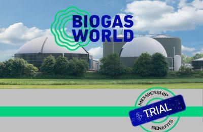 BiogasWorld offre un essai gratuit de 30 jours de son abonnement et de ses services!
