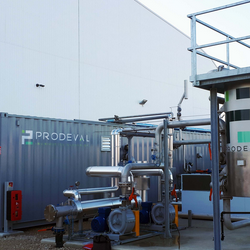 Prodeval - VALOPACK biogas treatment system