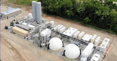 Bioferm — Dane County Landfill Project - Biogas plant equipment