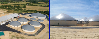 Naskeo – Metha Vie Project - Biogas plant equipment